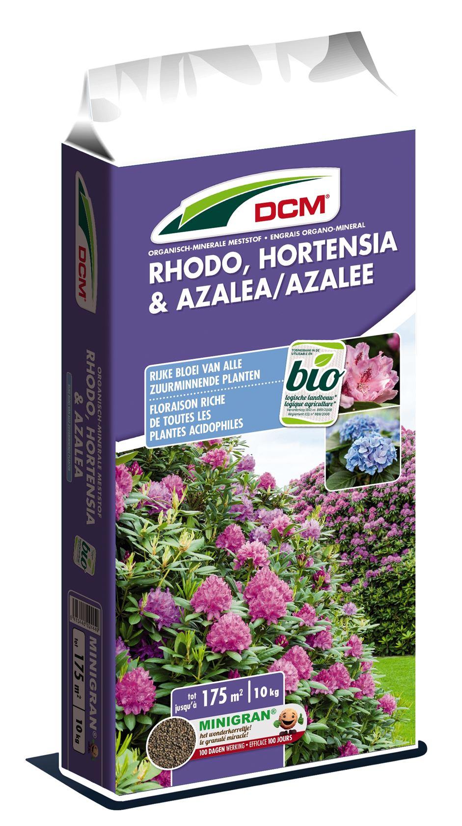 Meststof rhododendron, hortensia & azalea 10kg - Bio