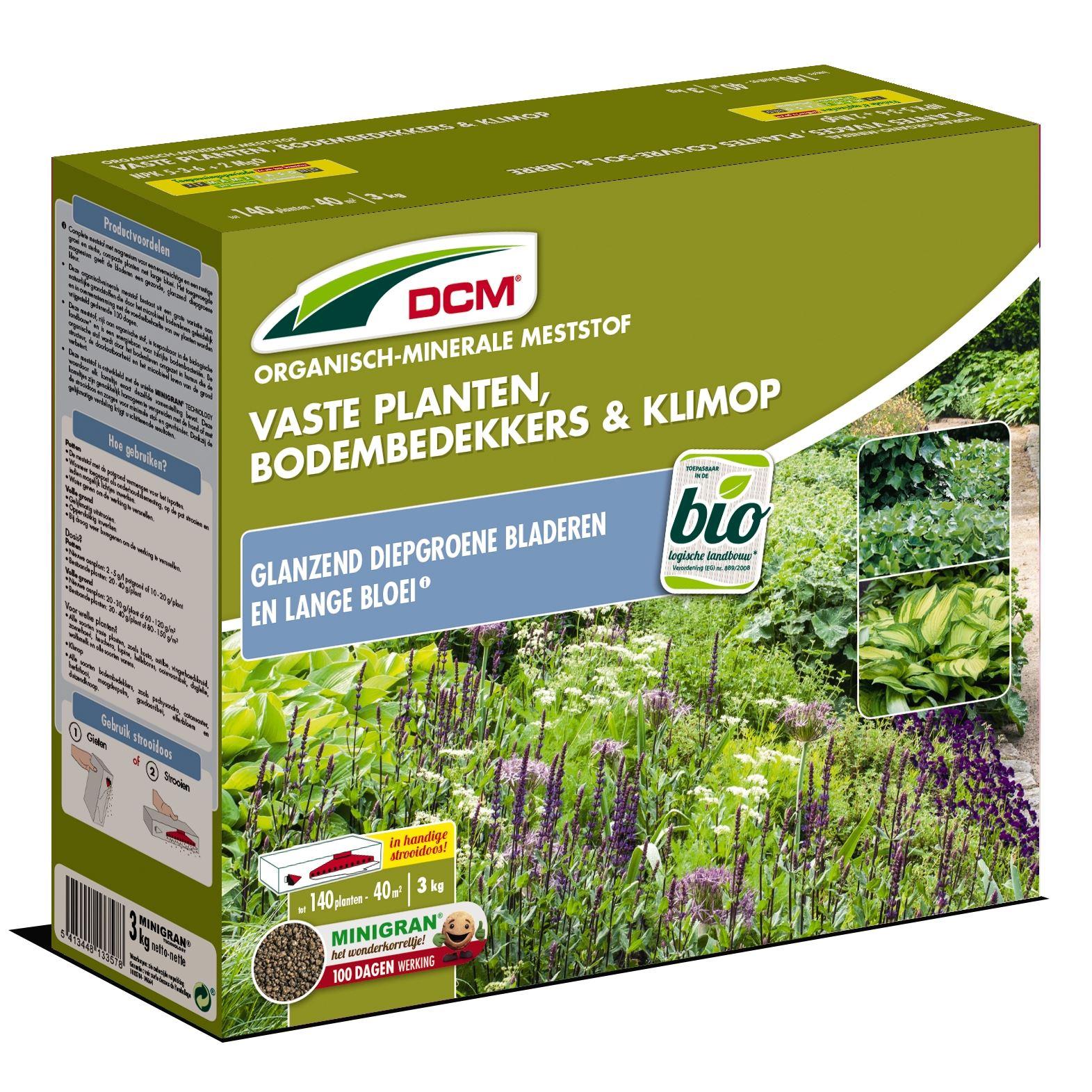 Meststof vaste planten, bodembedekkers & klimop 3kg - Bio