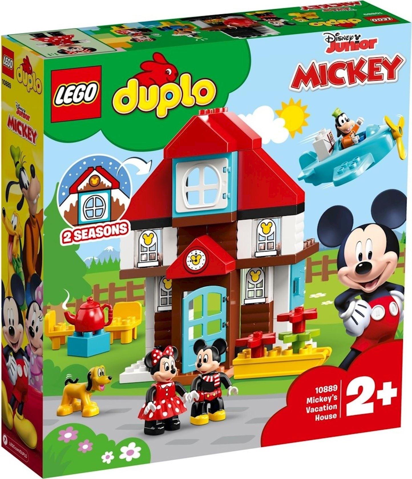 LEGO® DUPLO® Disney 10889 Mickey's Vakantiehuisje