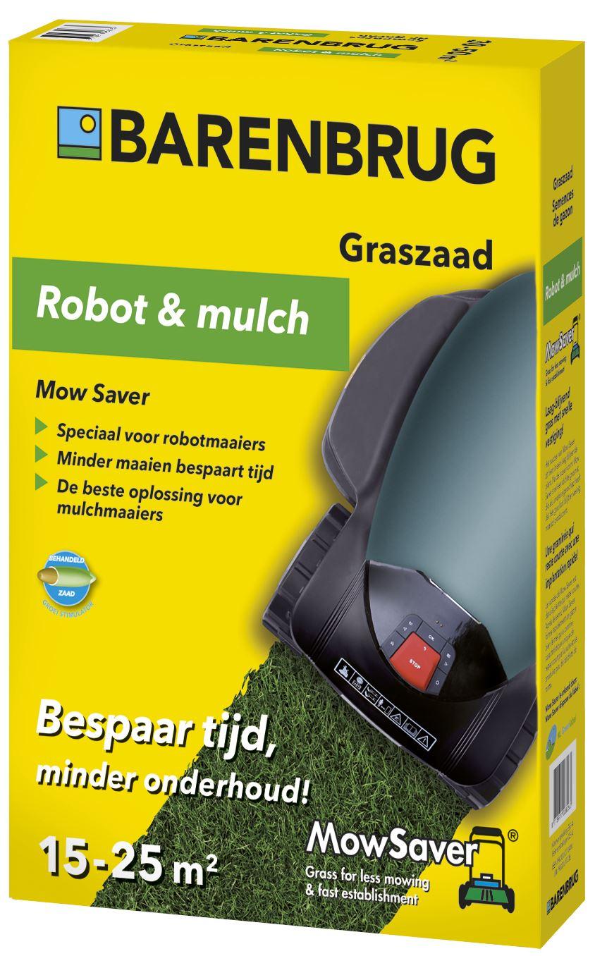 Mow Saver Robot & Mulch - Minder maaien graszaad 0,5kg