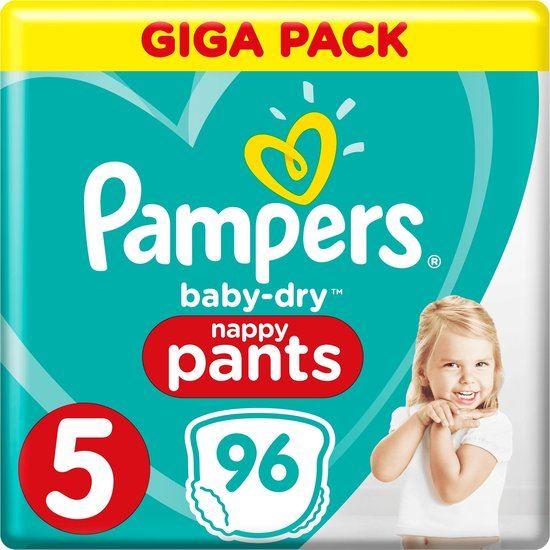 Pampers Baby Dry Nappy Pants Luierbroekjes - Maat 5 - 96stuks