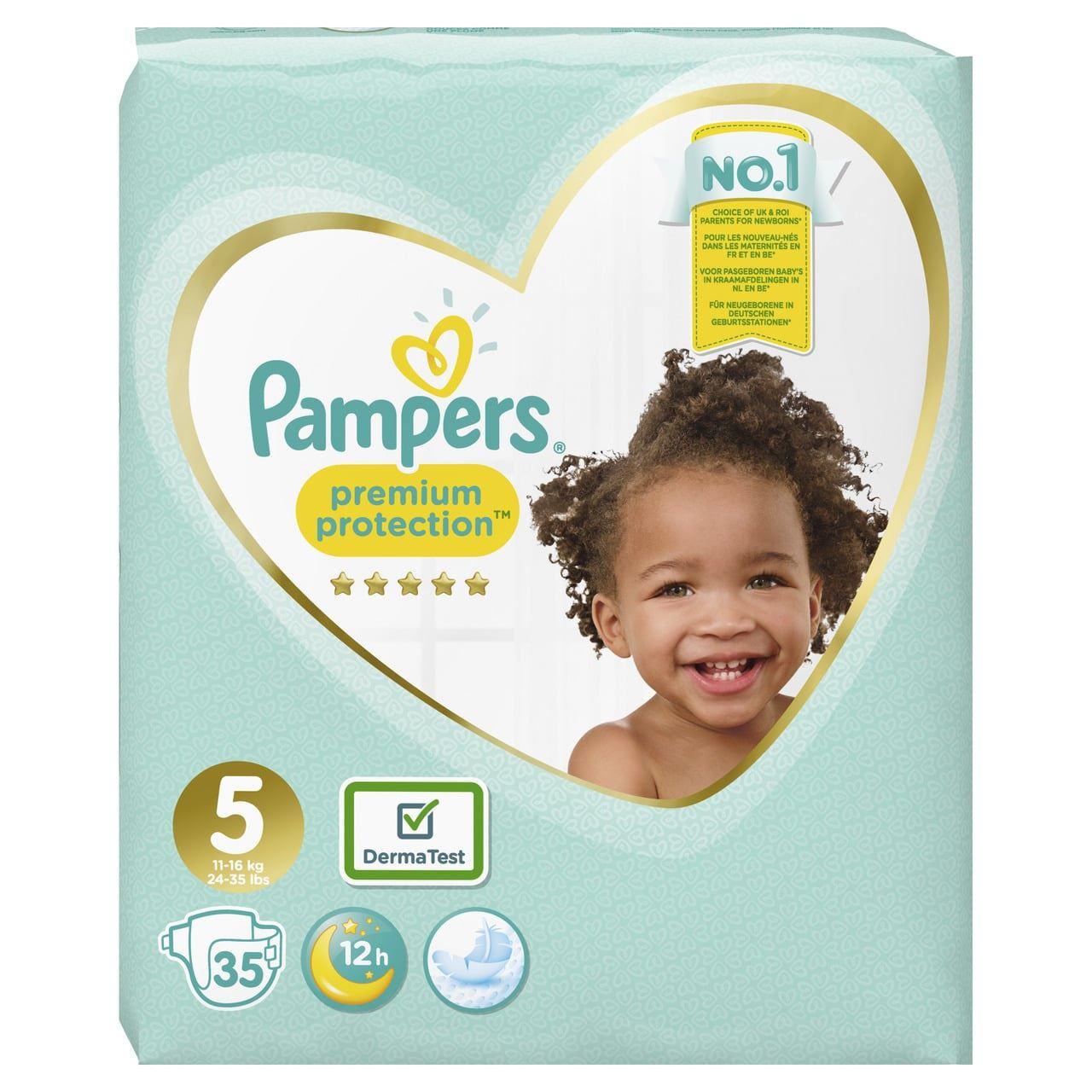 Pampers Premium Protection Luiers- maat 5 - 35stuks