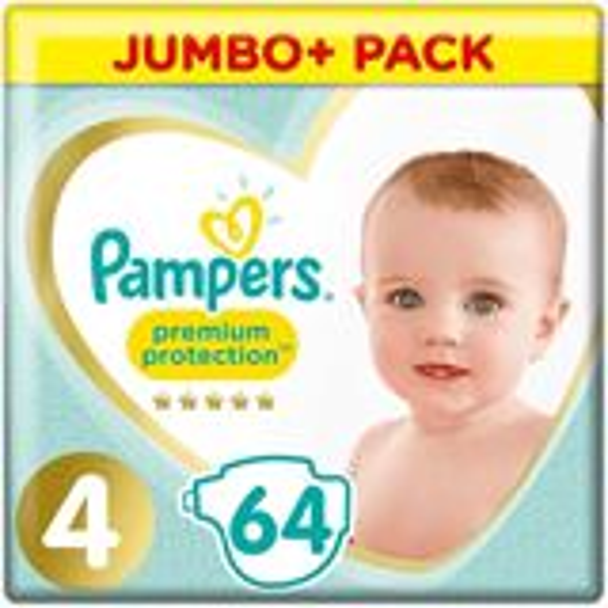 Pampers Premium Protection Luiers- maat 4 - 64stuks