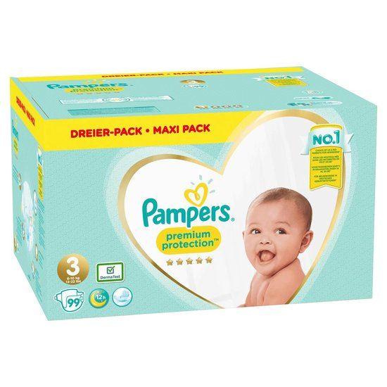 Pampers Premium Protection Luiers- maat 3 - 99stuks