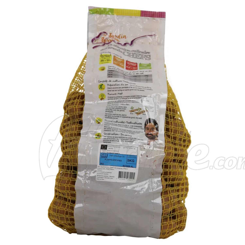 Pootaardappel Désirée zak 5kg - rood 35/45 (Frankrijk)