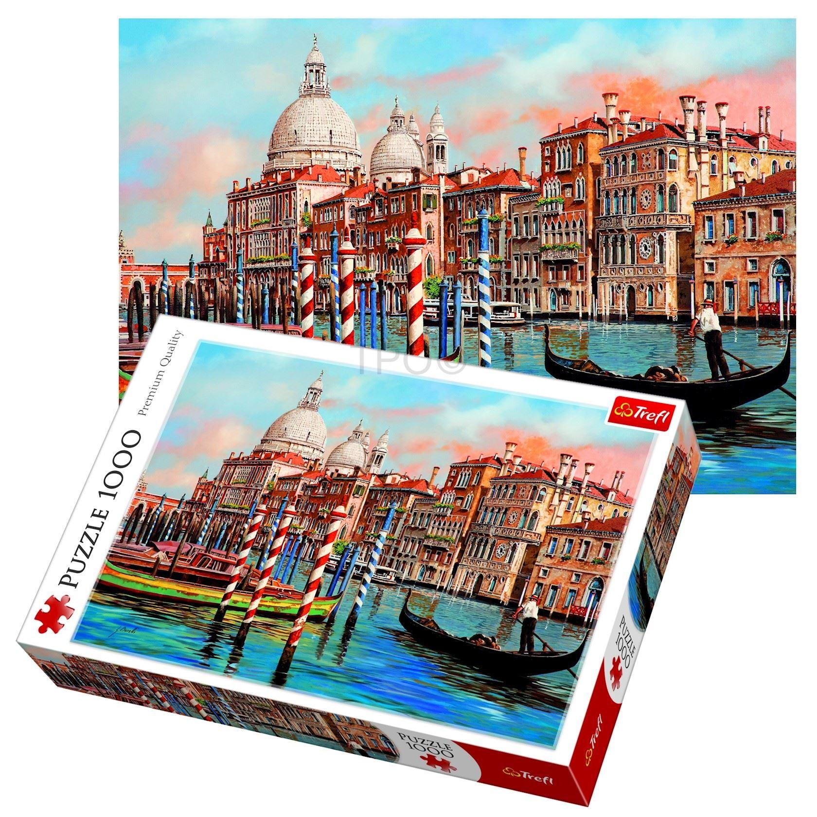 Puzzel Trefl 1000 stuks - Afternoon in Venice
