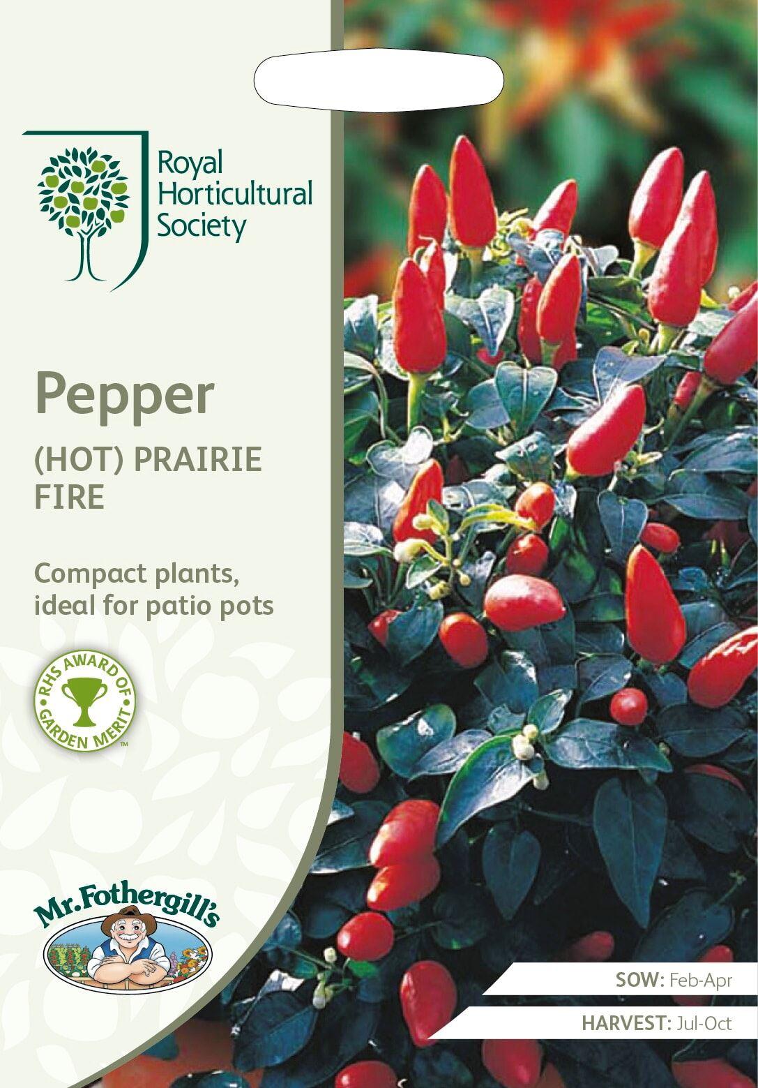 RHS Pepper (Hot) Prairie Fire