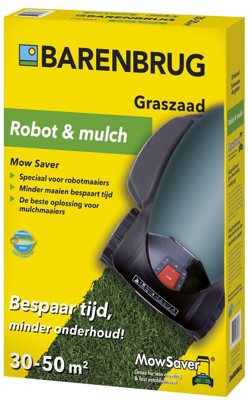 Mow Saver Robot & Mulch - Minder maaien graszaad 1kg