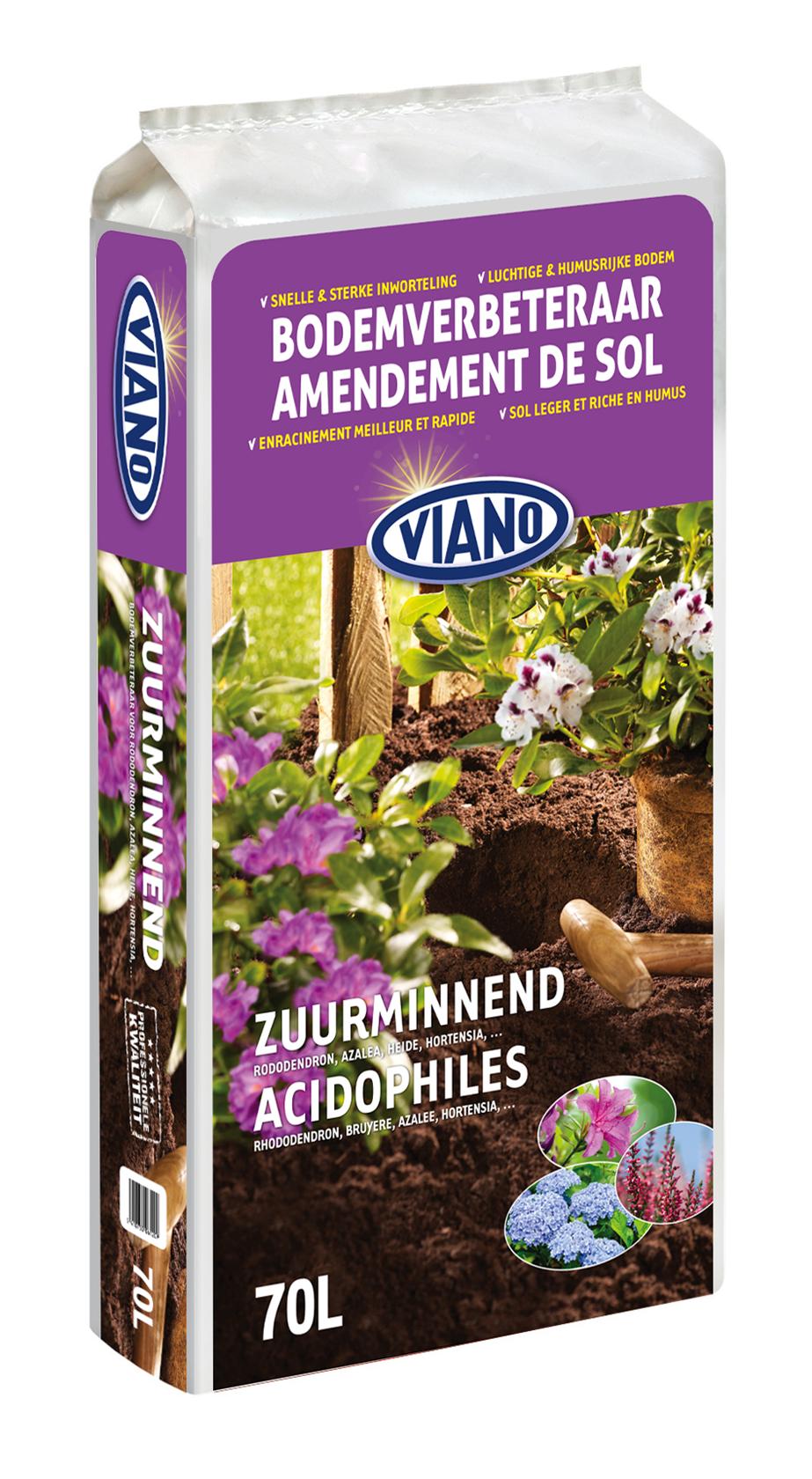 Rododendrons en Zuurminnende planten bodemverbeteraar 70L