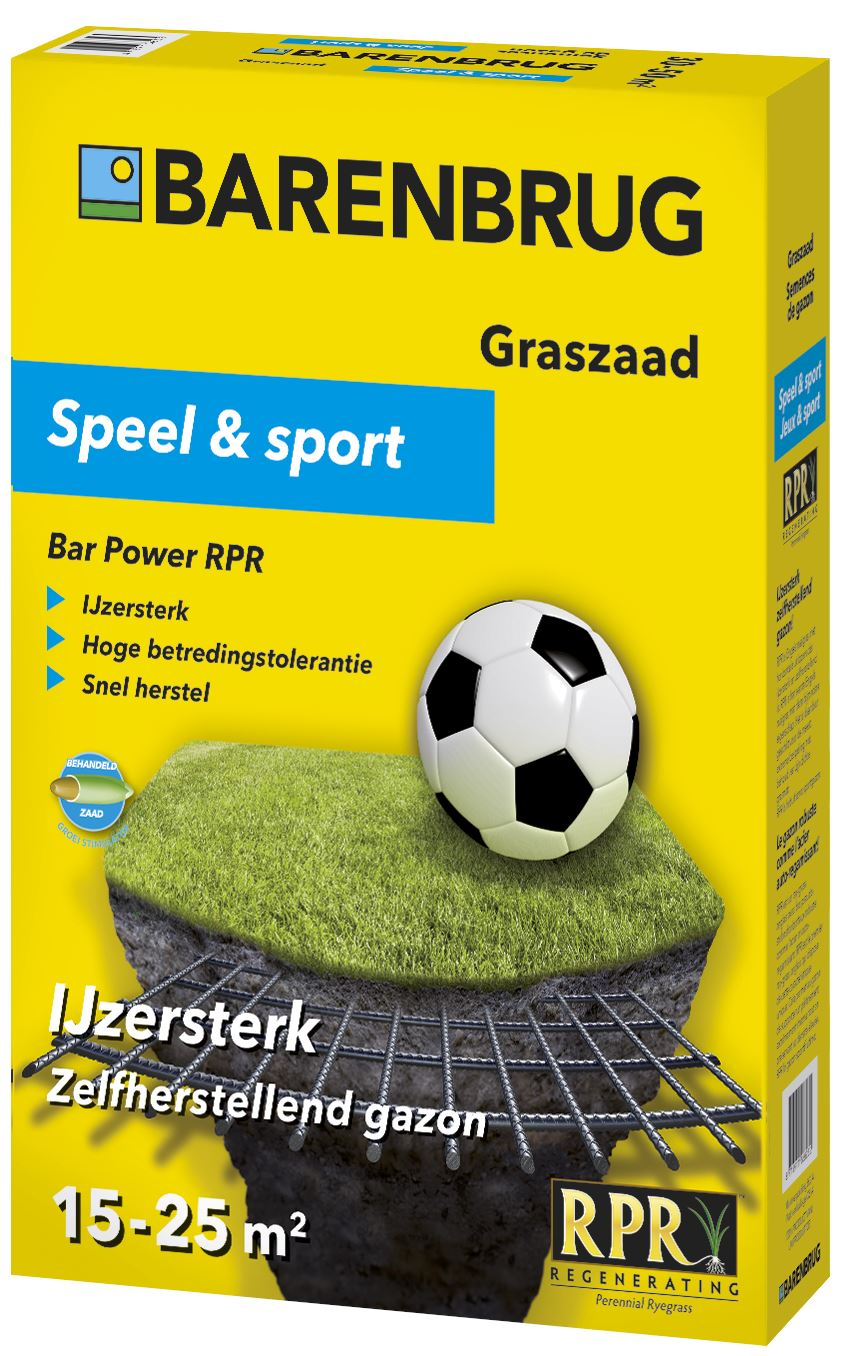 Bar Power RPR - sterk speel & sport gazon 0,5kg