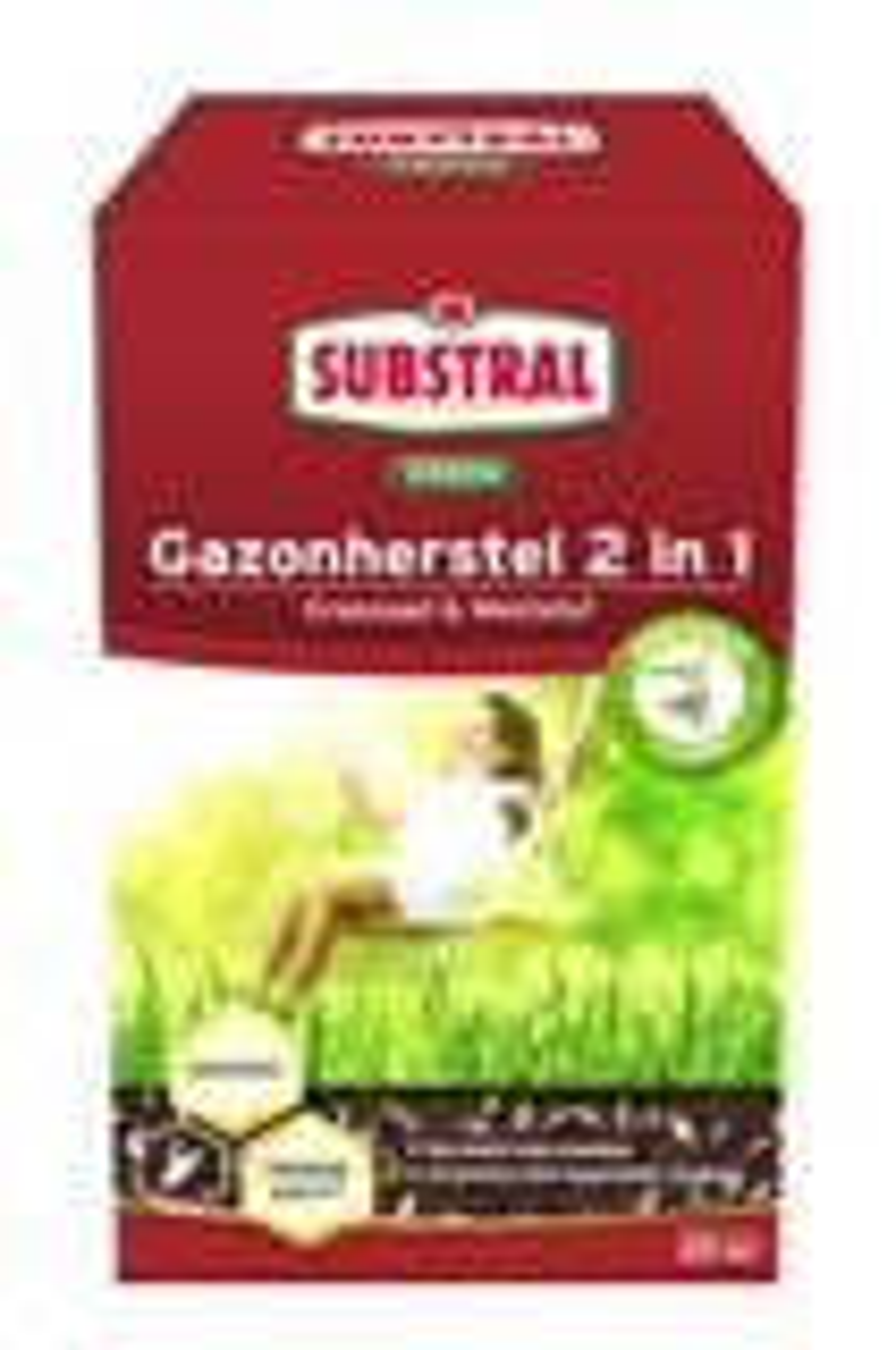 Substral gazonherstel graszaad & meststof 2-in-1 - 20m²