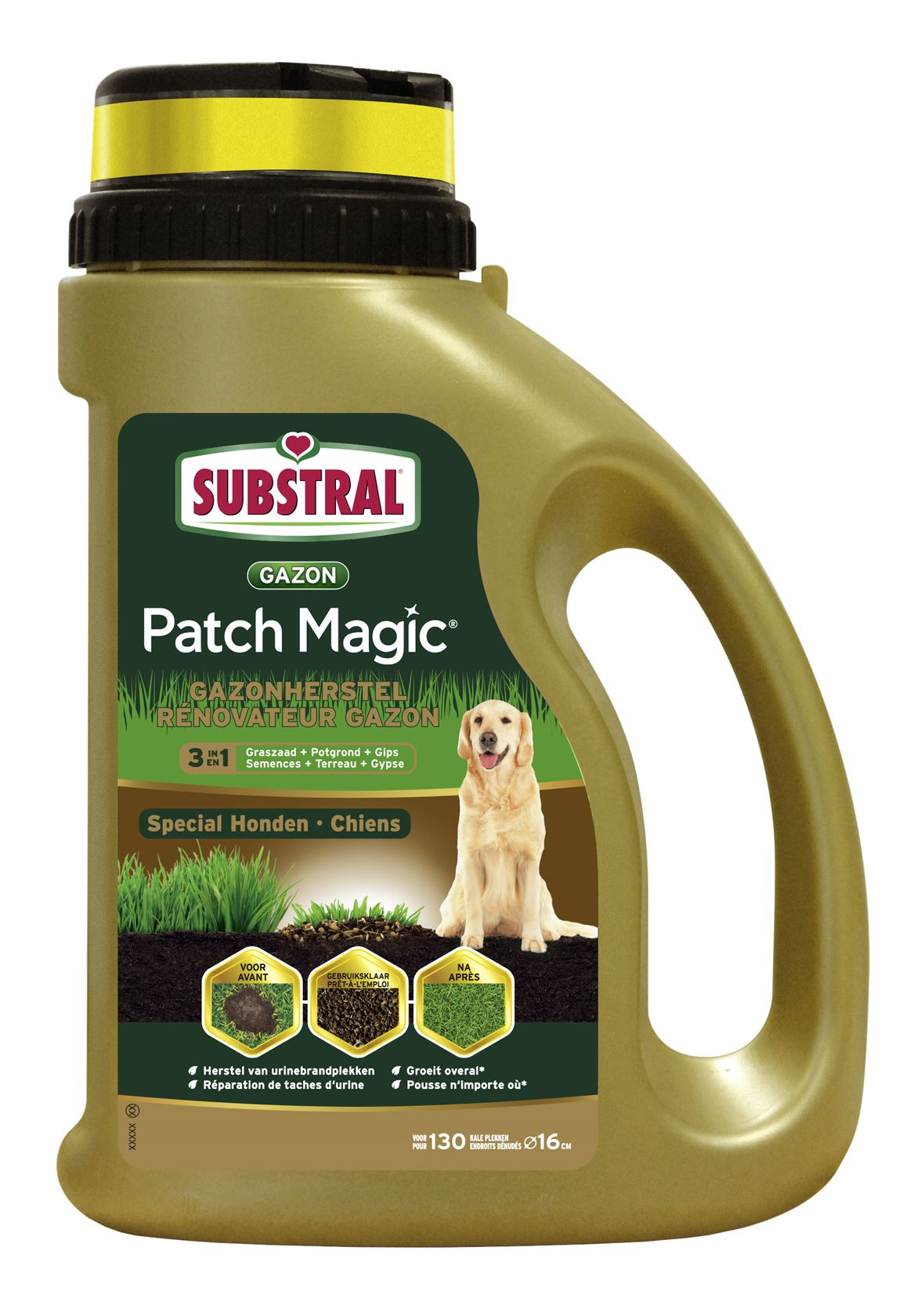 Substral patch magic® special honden 1,3kg