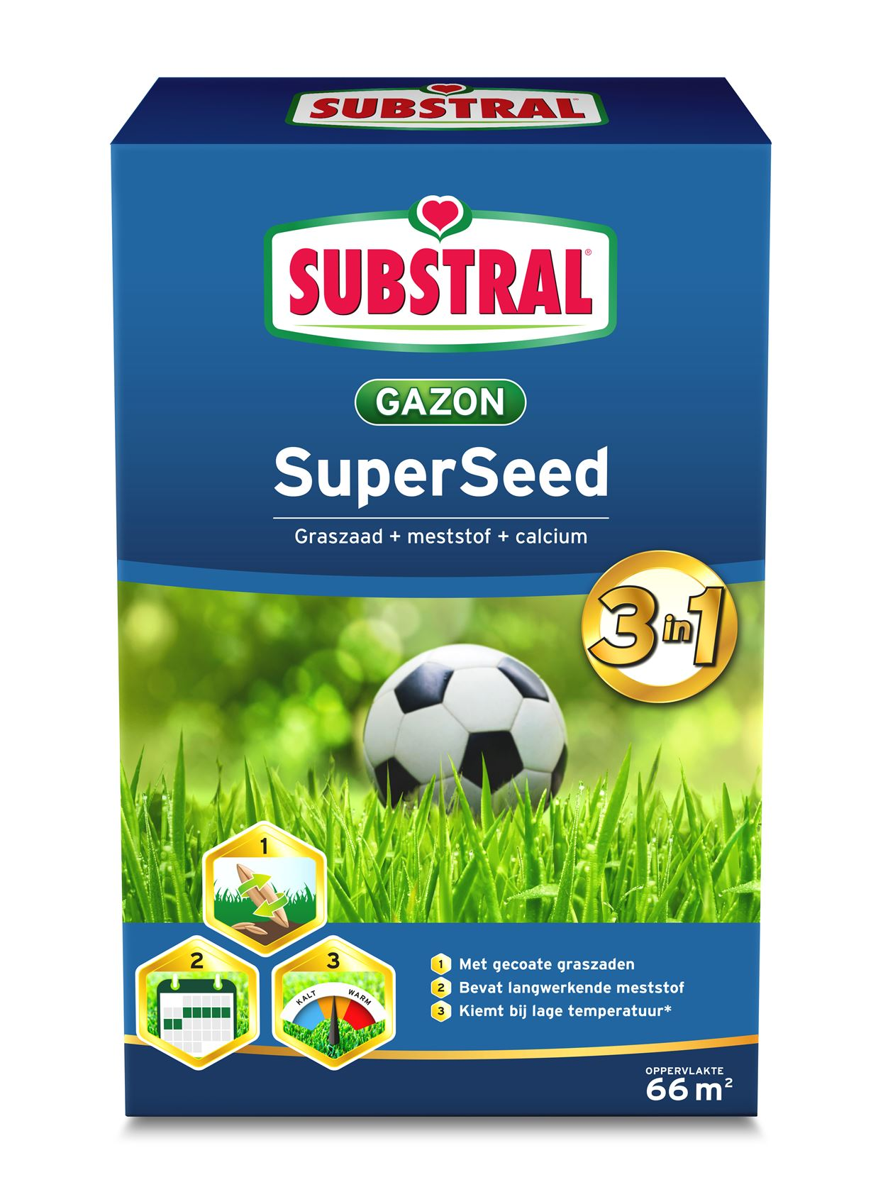 Substral Super Seed 3-In-1 66m²