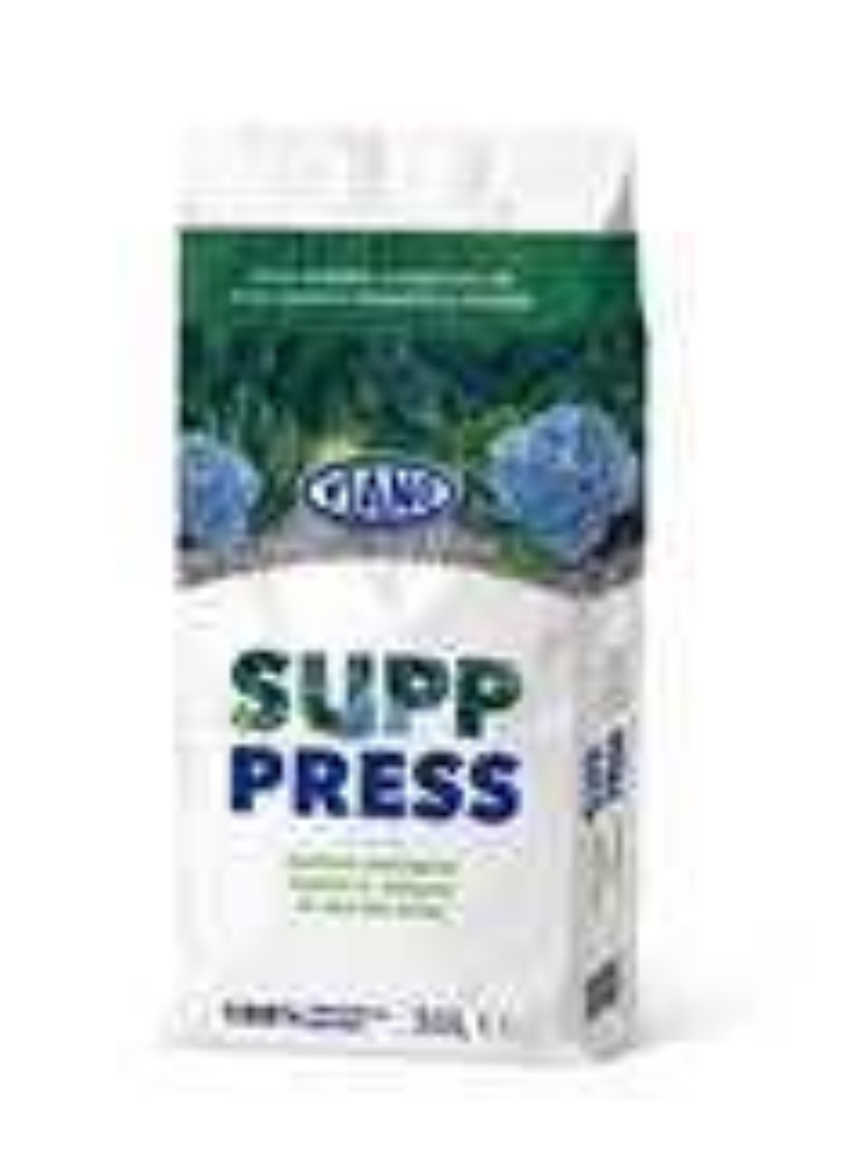 SUP-Press onkruidgroei - onkruid voorkomen 30L