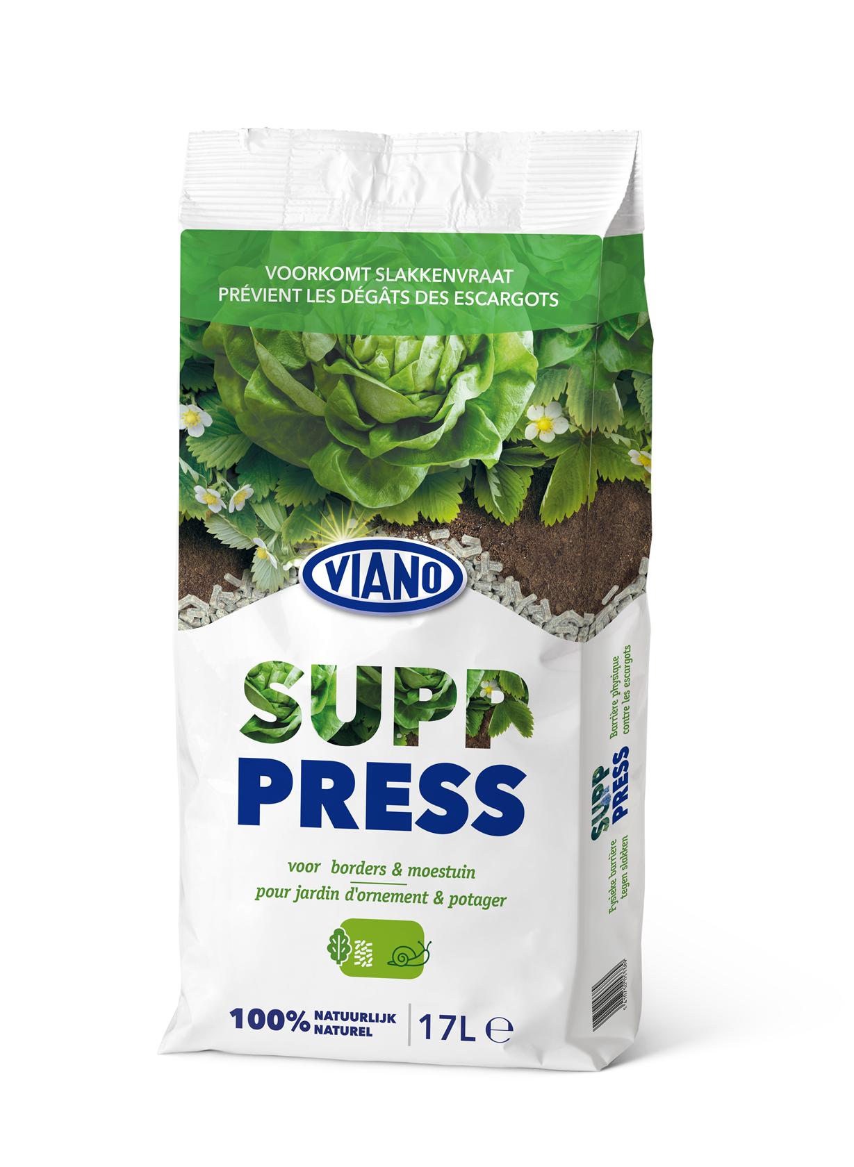 SUP-Press slakkenvraat - voorkomt slakkenvraat 17L