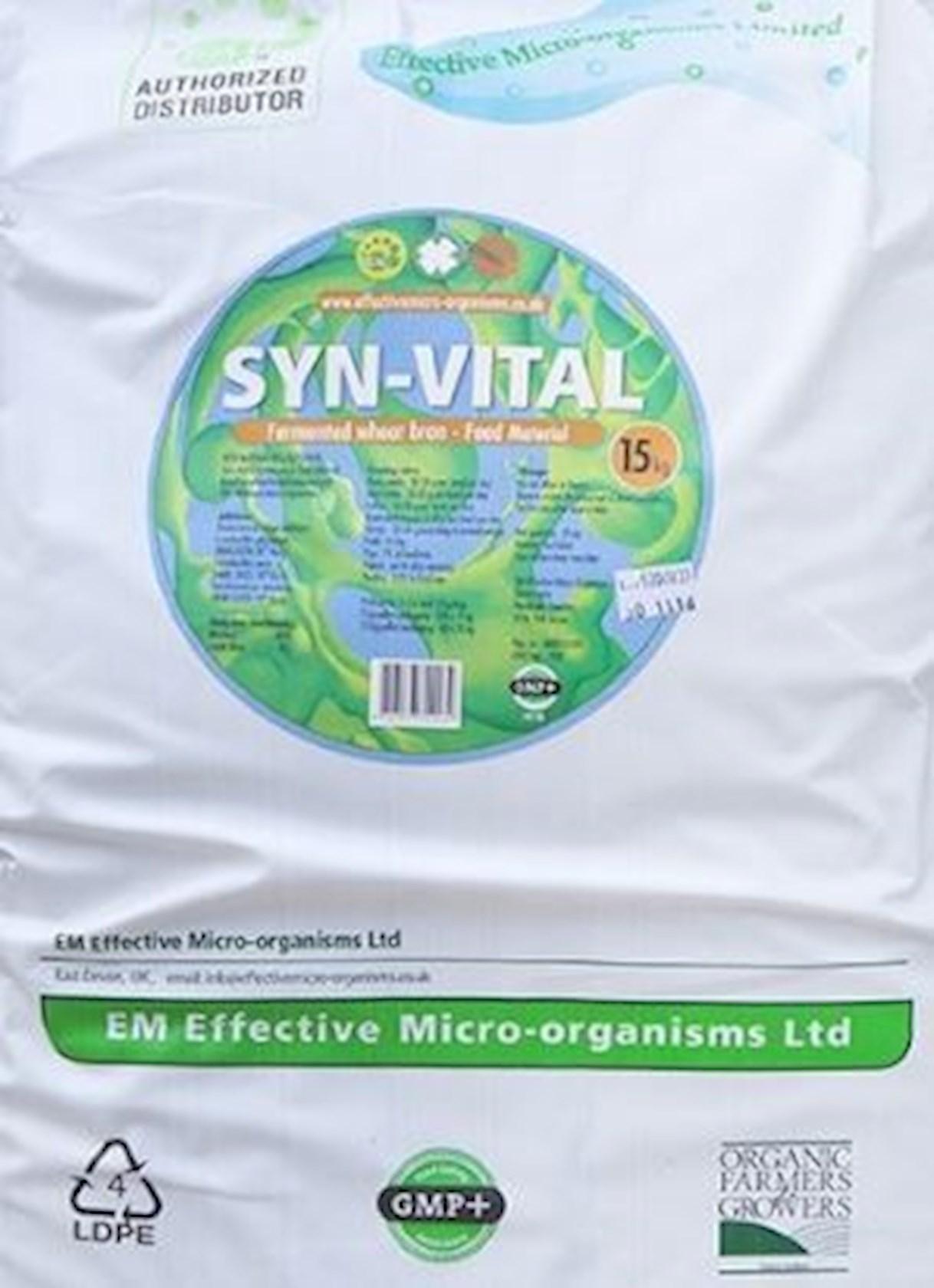 Syn-vital 15kg- gefermenteerde paardenvoeding