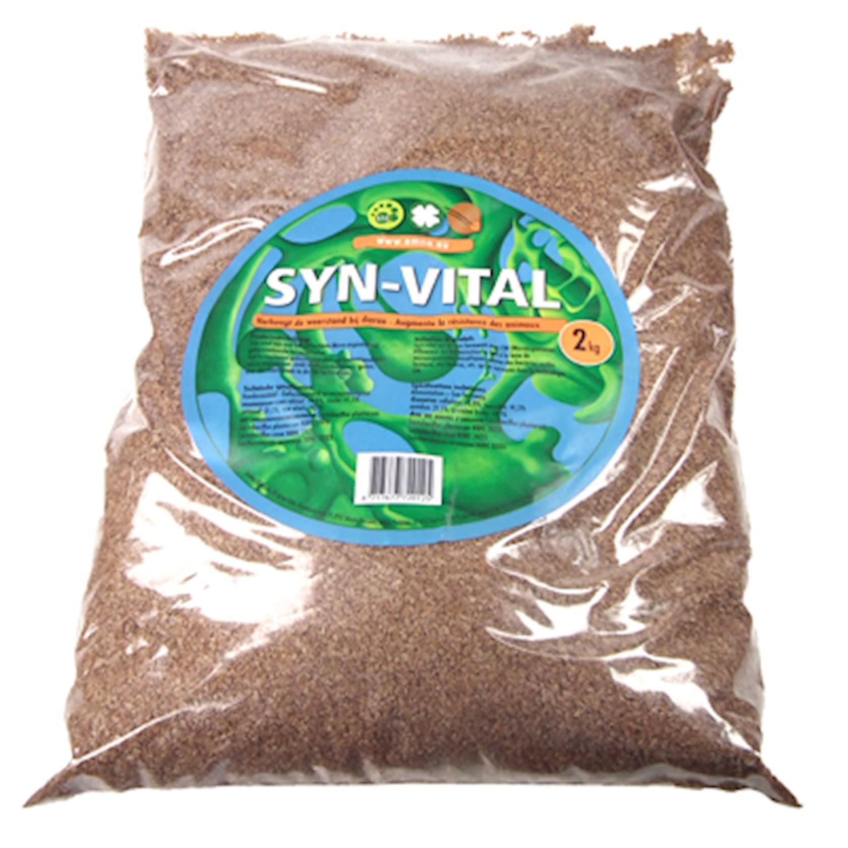 Syn-vital 2kg- gefermenteerde paardenvoeding