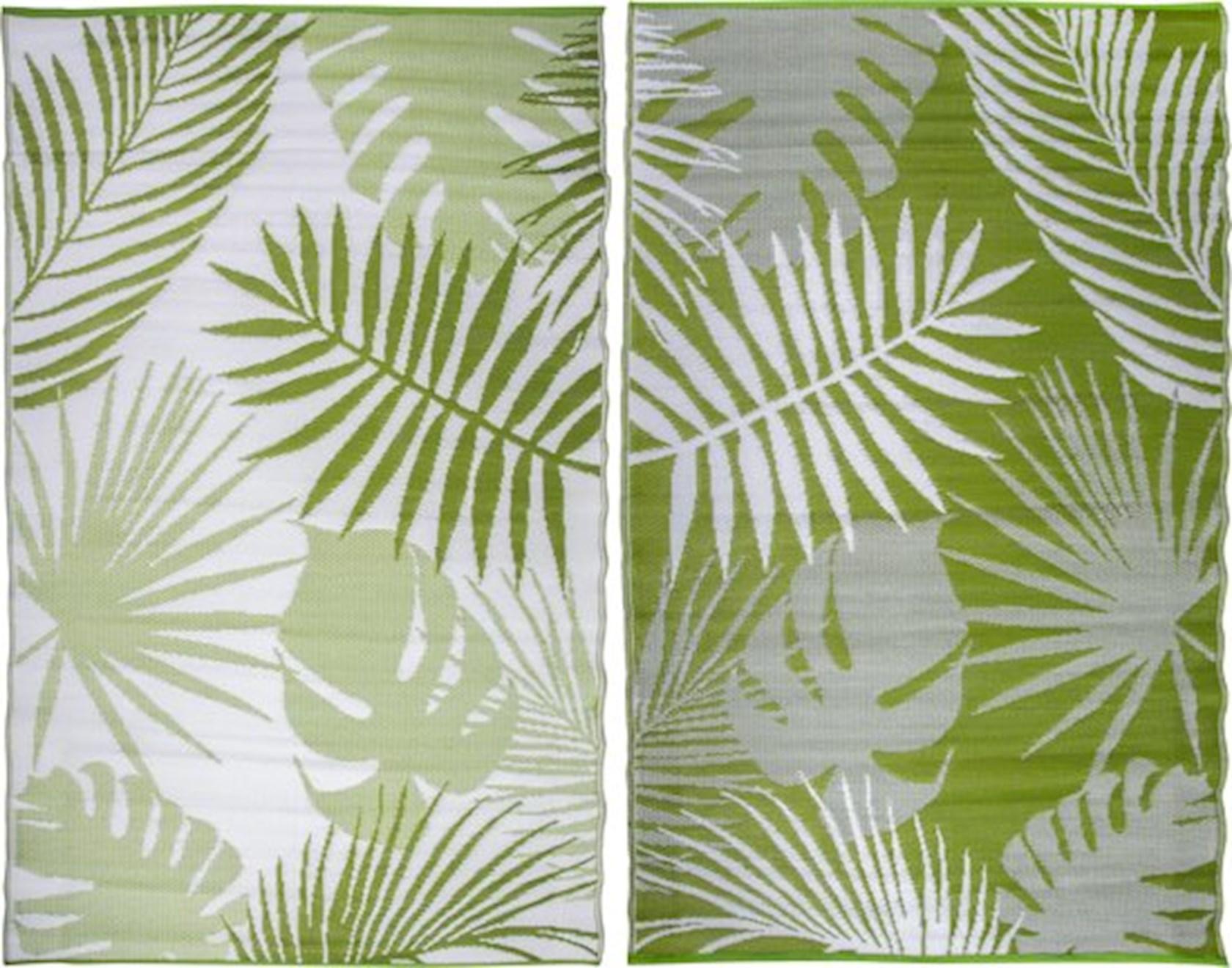 Tuintapijt jungle bladeren 240x150cm