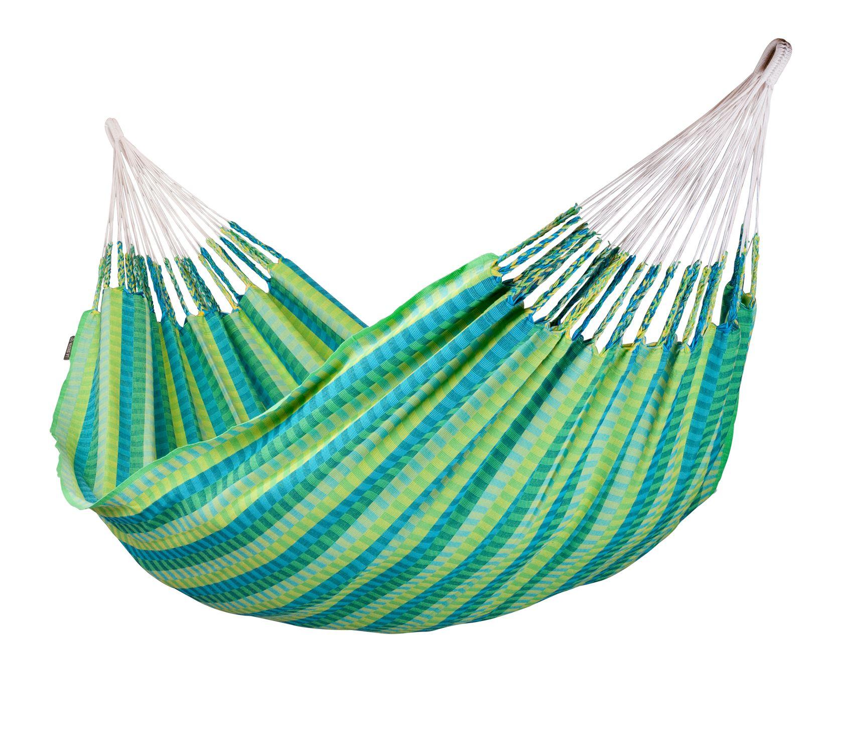 Tweepersoons hangmat - Carolina spring - katoen
