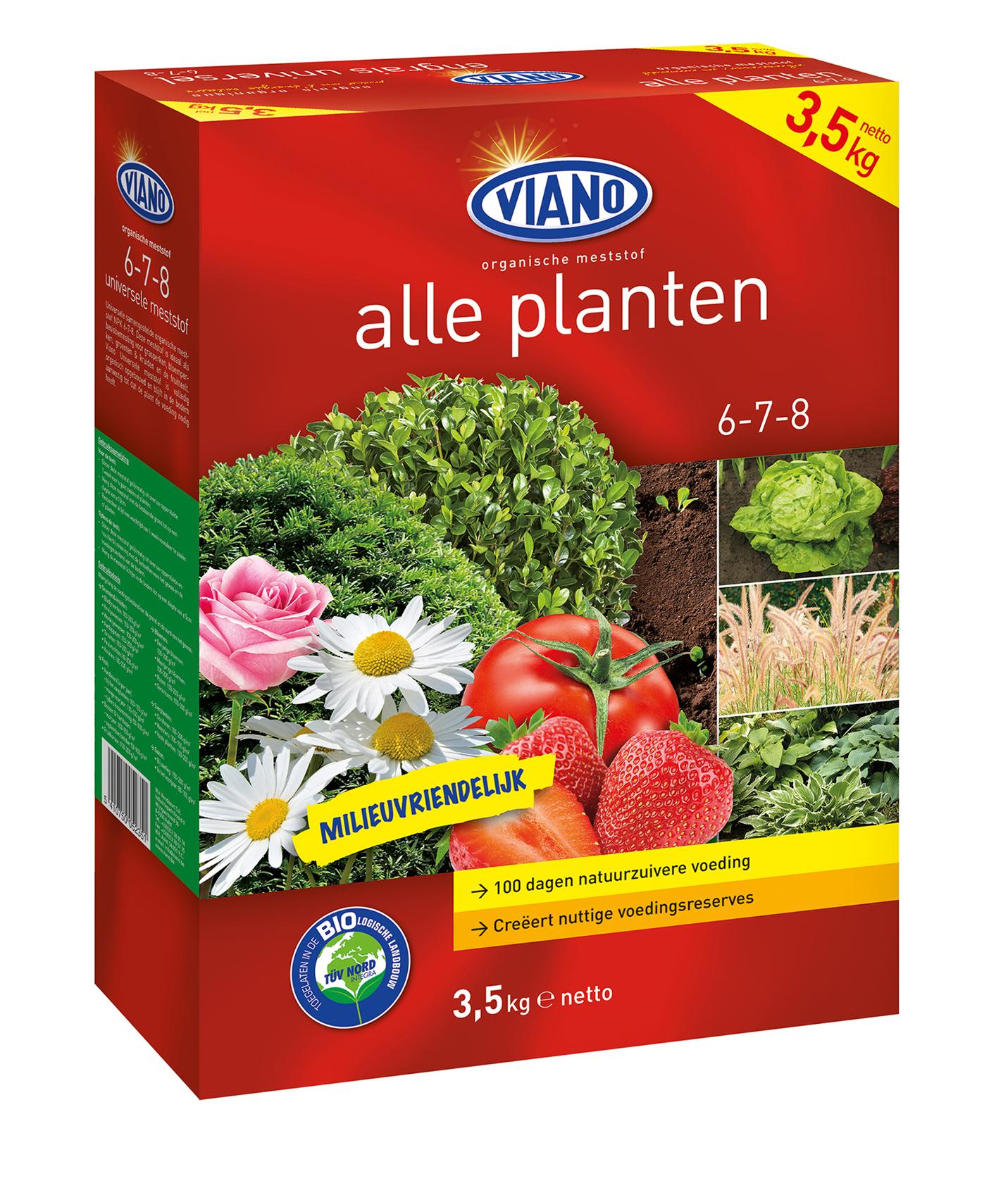 Universele Bio Meststof Alle Planten doos 3,5 kg