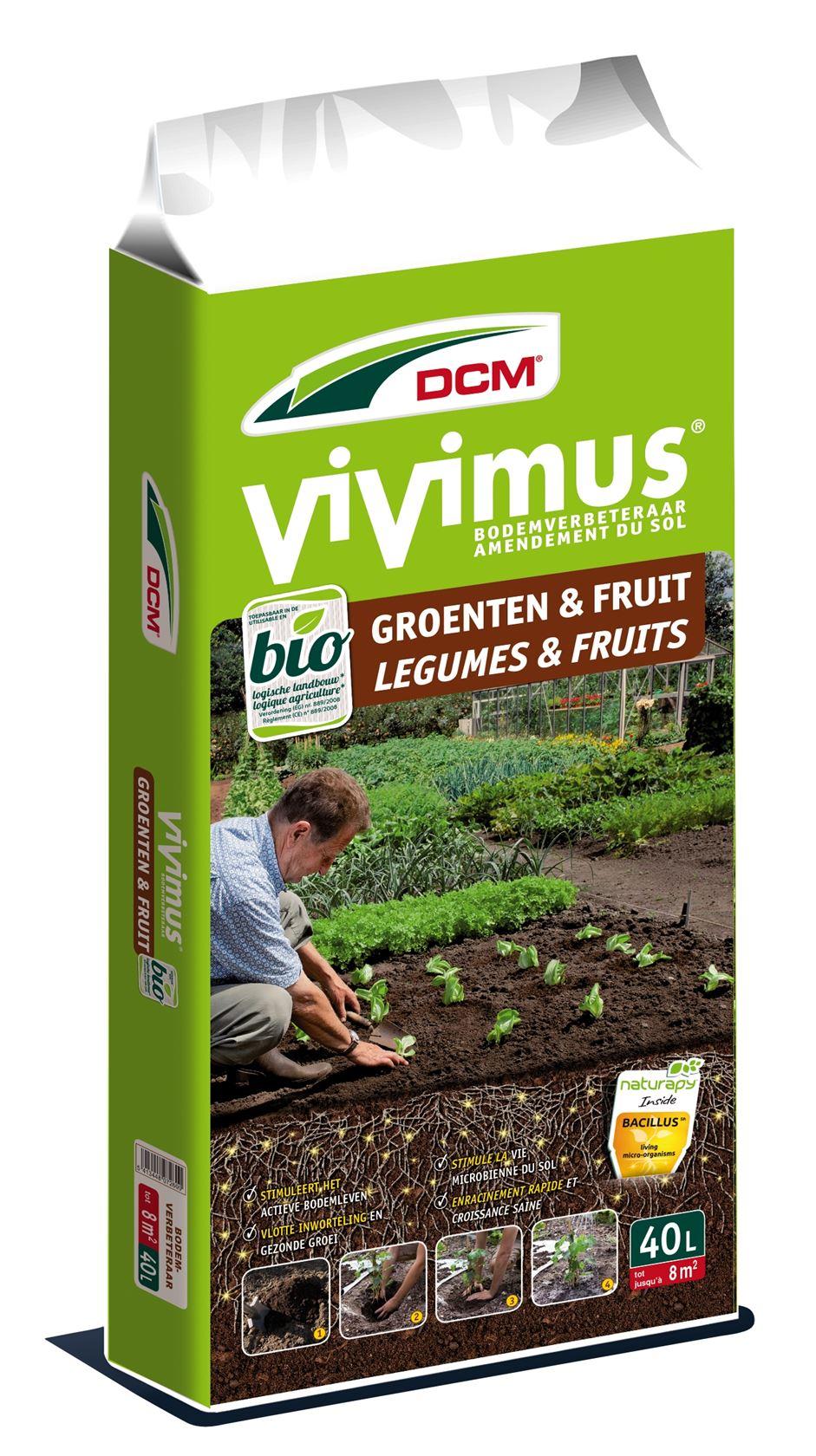 Vivimus bodemverbeteraar groenten & fruit 40L - Bio