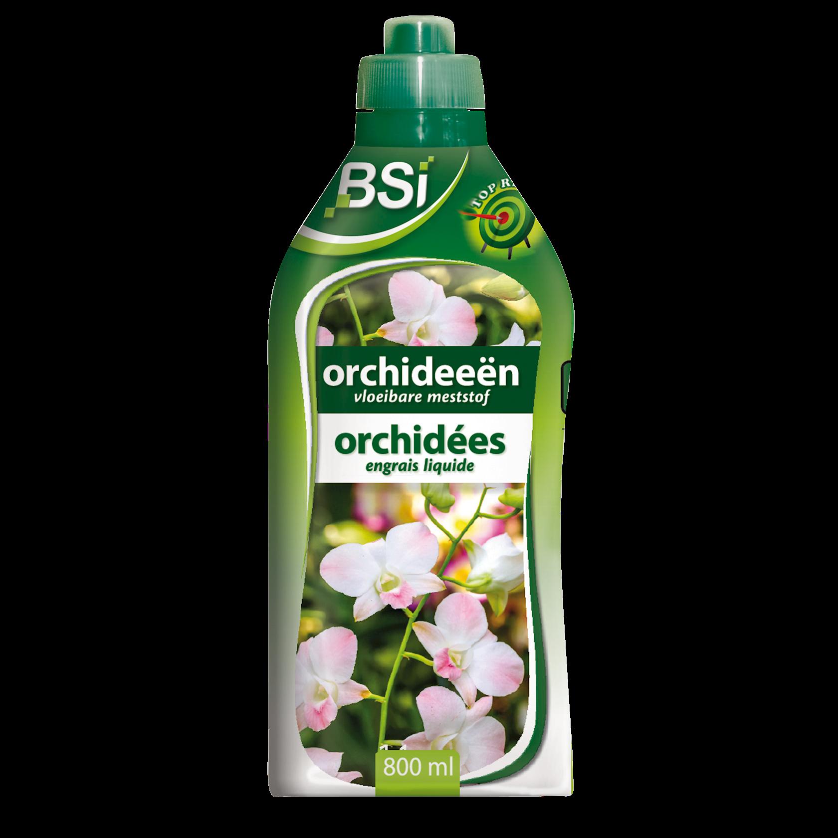 Vloeibare orchideeën meststof 800ml