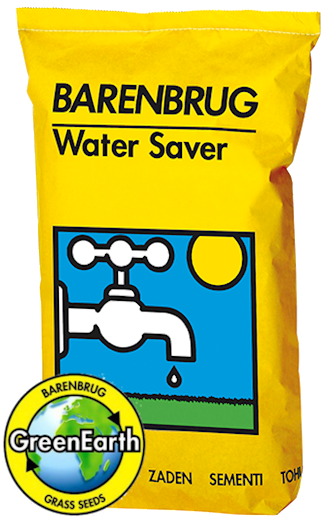 Water saver graszaad 15Kg met coating (yellow Jacket water management)